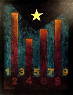 BARRES I ESTRELLA - 2010 http://jordipaulsart.wordpress.com/2013/08/11/barres-i-estrella/ #art #arte #paint #pintura #catalonia #catalunya
