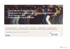 Monitor discapacitados intelectuales by Animacion, Servicios Educativos y Tiempo Libre, via Slideshare