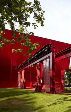 Serpentine Gallery and Pavilion, Hyde Park, London, UK  by Architect Jean Nouvel and Christian Boltanski :: 2010