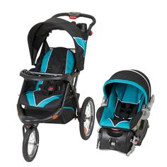 Baby Trend Expedition Jogger Travel System, Millennium Blue ...