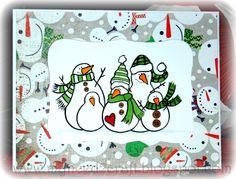 MyNeed2Craft: Snow family Cards...