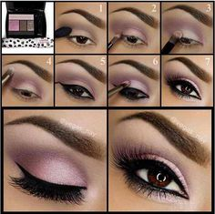 Soft & Sultry - the perfect way to do pink & purple shadow