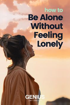 Learn how not to feel loneliness when being alone. Visit for tips that will help you feel less alone in life, increase your self love and realize that you are enough. Jay Shetty's Genius Community is your lifelong partner in well-being, with curated workshops and meditations designed with you in mind. Find purpose, peace, and success with Genius. Positive Motivation, Self Motivation, Positive Quotes, Feeling Left Out, How Are You Feeling, When You Feel Alone, Feeling Rejected, Having No Friends, Finding Purpose