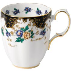 The Royal Albert enchanting 100 Years Collection celebrates a century of beautifully served high tea. The romantic design and iconic florals of the charming 1910 Duchess Mug bring a beautiful bouquet of colors to your table. Vintage High Tea, Lilac Roses, Royal Albert, Mens Gift Sets, Fine China, Tea Mugs, Harrods, Tea Party, Anniversary