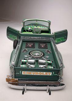 1950 chevrolet 3100 stepside chop top truck bed