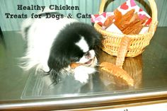 Dogs and cats love these easy to make chicken strips. Get complete instructions on the Pet Pleasers blog. |