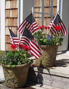 Patriotic Planters