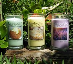 Lucky Girl Candles are 100% Soy. Order today: www.lgcandles.com/cmiller