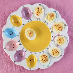 Youu0027ll Have The Coolest Deviled Egg Dish In Town When Decorated In This  Adorable Easter Design!