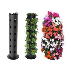 Flower Tower Freestanding Planter Column | Problem Solvers