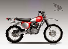 "Motosketches: HONDA CRF 230 ""JEWEL"""