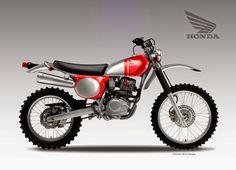 "Motosketches: HONDA CRF 230 ""JEWEL"""