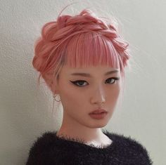 Fashion Trends Accesories - fernanda ly for love and lemons fall / winter 2017 The signing of jewelry and jewelry Uno de 50 presents its new fashion and accessories trend for autumn/winter Hair Inspo, Hair Inspiration, Character Inspiration, Pastel Pink Hair, Rose Pink Hair, Pretty Face, Pretty People, Beautiful People, Dyed Hair