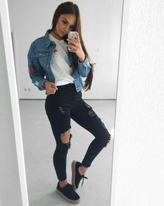 Casual woman outfits for a beautiful day Winter Outfits, Casual Outfits, Fashion Outfits, Womens Fashion, Fashion Trends, Fashion Guide, Fall Outfits 2018, Woman Outfits, Casual Clothes