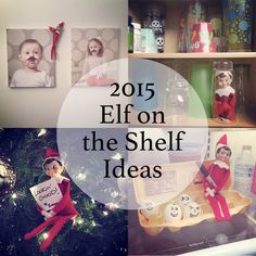 Some new and unique ideas for Elf on the Shelf this year! #elfontheshelf