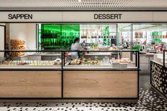 The Kitchen Bijenkorf Utrecht- interior architects - De Architect Utrecht, Modern Food, Kitchen Modern, Glass Facades, Hall Design, Kitchen Pictures, Modern Interior Design, Interior Paint, Interior Ideas