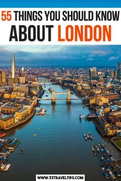 55 Things You Should Know About London. Check out these 55 fun and interesting facts about London. From the lush parks, astounding landmarks, and world-class museums, throw in diverse history, cosmopolitan feel, and architectural masterpieces, and you'll realize why everybody who visits London falls in love with it. Facts About London | Fun Facts About London | Interesting Facts About London | Funny Facts About London | Things to know about London | London Travel | Europe Travel Tips, European Travel, Travel Guides, Travel Destinations, London England Travel, London Travel, Day Trips From London, Things To Do In London, Interesting Facts About London