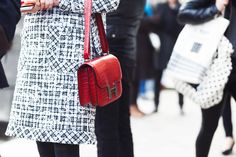 The Best Handbags from the Streets of Paris Fashion Week Fall 2014