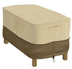 Classic Accessories Veranda Rectangular Coffee Table Cover, Fits Tables 48 L x 25 W Patio Loveseat, Patio Chaise Lounge, Patio Cushions, Patio Chairs, Square Patio Table, Round Table And Chairs, Table Legs, Dining Tables, Coffee Table Cover