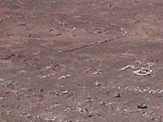 Messages in a volcano crater