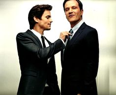 Neal and petter from white collar in the brotherly way or the father son way
