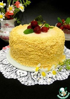 """Торт """"Белое танго"""" ингредиенты"""