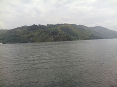 The lake toba in samosir island