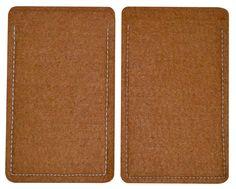 Smartphone - Sleeve aus Filz in Braun XXXXL Made in Germany - Etui / Schutzhülle aus hochwertigen Filz - Handyhülle Handy Schutz Tasche Case Handytasche Hülle Cover Farbe Braun S8-5: Amazon.de: Elektronik