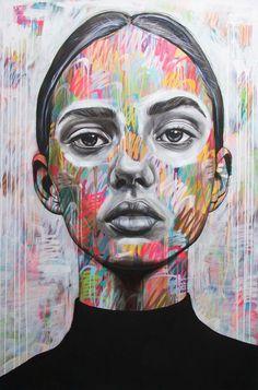 Gcse Art Sketchbook Portraits Paintings 43 Ideas