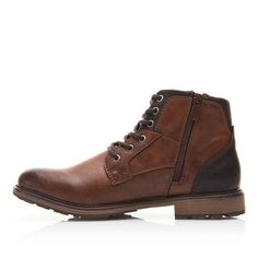 Men's Vintage Style Fashion High-Cut Lace-up Warm Autumn/Winter Boots Online Free Shipping Mens Fashion Style inspiration casual outfit fall autumn guys shoes internet fashion websites footwear awesome ideas beautiful gifts For him mens styles menswear shoes for men fall links products Store shops for sale online Buy Best Purchase Livraison Gratuite Bottes Bottines homme Hiver Achat En ligne USA UK Canada Australia France #men'scasualoutfits