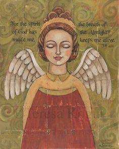 Breath of the Almighty 8x10  Teresa Kogut, Inc.