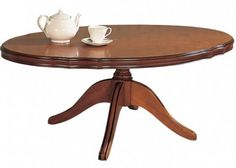 Gola Large Oval Coffee Table