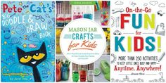 Mom Knows It All 2015 Holiday Gift Guide - 3 Activity Books For Children