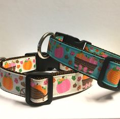 Harvest fun collar by PawsNClawsCouture on Etsy