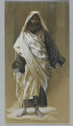 Brooklyn Museum - Saint James Major (Saint James le Majeur) - James Tissot - overall. Life Of Jesus Christ, Jesus Lives, Saint James, Religious Images, Religious Art, St James The Greater, Warrior Of The Light, Famous Saints, Spiritual Paintings