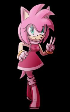 Ames Sonic And Amy, Amy Rose, Princess Peach, Sonic The Hedgehog, Geek Stuff, Fictional Characters, Art, Maps, Map Of America