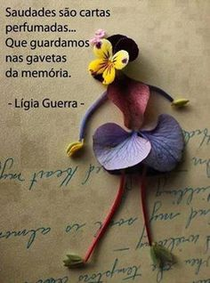 Frase perfeita sobre a saudade.