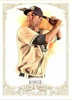 2012 Topps Allen & Ginter BB Card #83 Matt Joyce Tampa Bay Rays by 2012 Topps Allen & Ginter. $0.99. Great looking 2012 Topps Baseball Card!. Look for 1000s of other great sportscards of your favorite player or team. Card is in NRMT/MT to MINT condition, right out of the pack!. Single 2012 Topps Allen & Ginter Trading Card. 2012 Topps Allen & Ginter Baseball Card #83 Matt Joyce Tampa Bay Rays