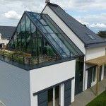 Maison Saint-Gobain Multi-Confort. © Saint-Gobain. Arch.  Laure Levanneur, agence ARCHIfact  Ph.  Thierry Mercier
