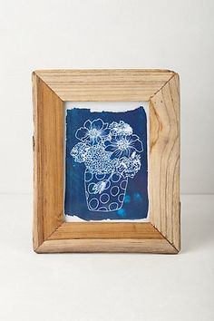 reclaimed wood gallery frame anthropologiecom