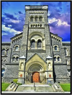 Toronto Ontario ~ Canada ~ University College ~ University of Toronto Campus Canada is a North American country stretching from��_