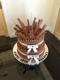 Chocolate explosion heaven cake 2 tier