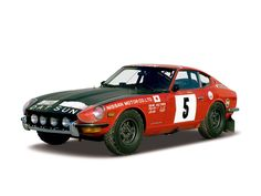 Datsun 240Z Rally (S30) 1971–73 #car #design.... I wonder If I could make mine look like this?
