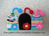 Free Crochet Pattern Flower Key Cozy | Crochet Direct