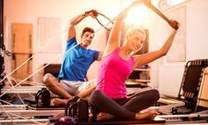 From crunches to interval running and weight training, these are all the different exercises you can do to lose weight Trx Pilates, Pilates Training, Pilates Studio, Pilates Reformer, Pilates Workout, Post Workout, Joseph Pilates, Massage Envy, Interval Running