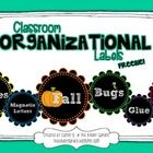 This is a FREE set of classroom labels to help your classroom get organized this school year! They are adorable round scalloped frames with a chalk...