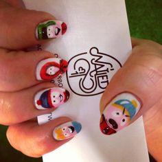 #nails #nailspiration #nailporn #nailswag #nailart #nails #nailsart #nailedit #nail #manicure #mani #southpark #omgtheykilledkenny