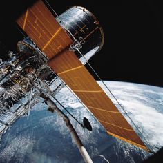 On April 24, 1990, the Hubble Space Telescope was launched aboard Space Shuttle Discovery on the STS-31 mission.