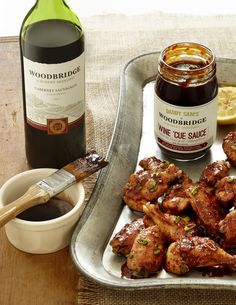 Oven Baked Woodbridge Wine Chicken Wings | D Home