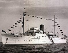 William K. Vanderbilt Jr.'s megayacht 'Alva.'